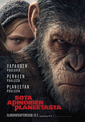 [Affischen för War for the planet of the apes]